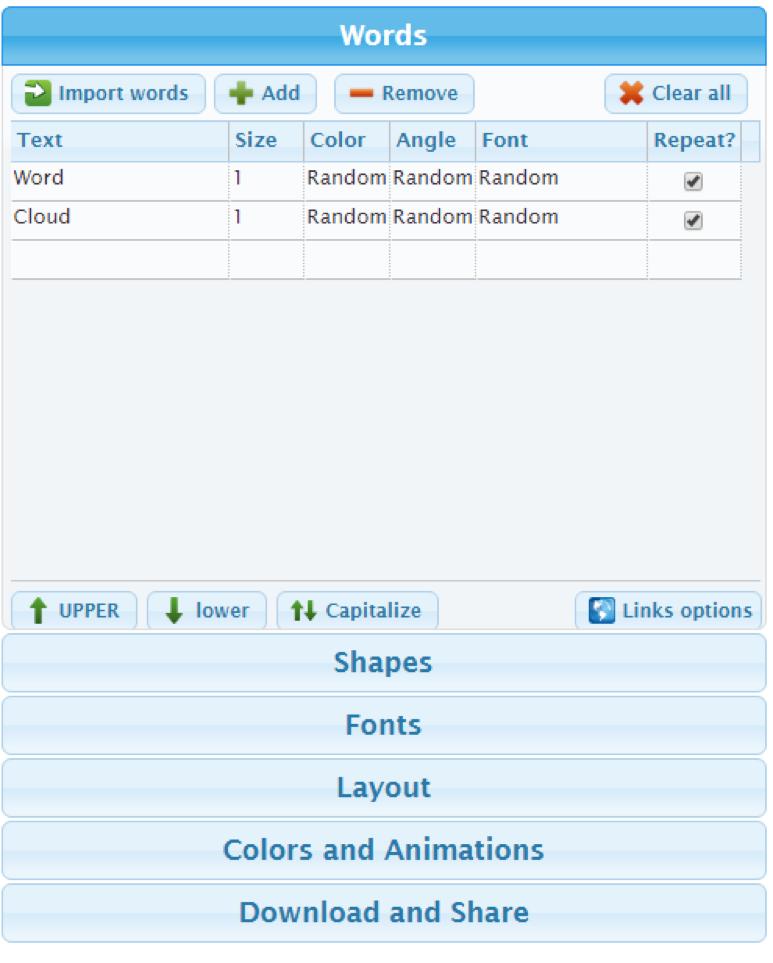 7 best word cloud generators free word map maker